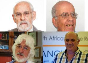 Lappe Laubscher. Skrywers: Louis Changuion, Fransjohan Pretorius. Theo de Jager